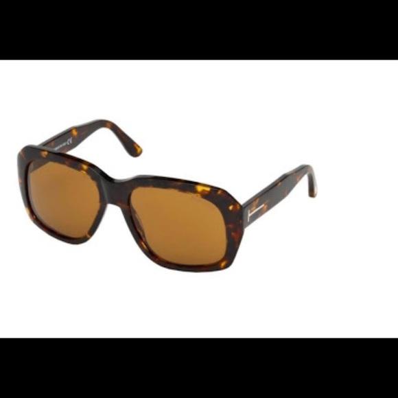 f2f99dfb74 Tom Ford Andre 02 TF635 52E Square Sunglasses NWT